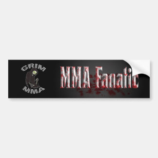 Bloody MMA Fanatic bumper sticker Car Bumper Sticker