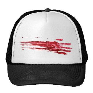 Bloody murder trucker hat