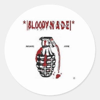 Bloody Nade Sticker