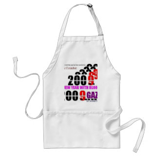 BLOODY NEW YEAR 2009 FOR GAZA2 ADULT APRON
