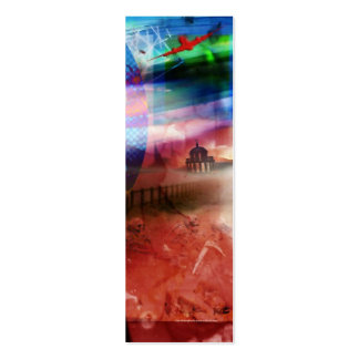 Bloody Night Bookmark Business Card Template