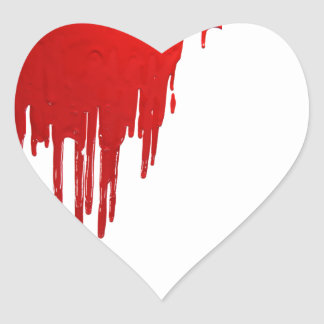 Bloody Pegatina De Corazon