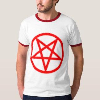 Bloody Pentagram Ringer T-shirt