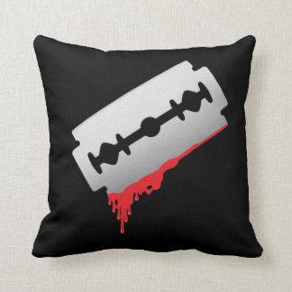 Bloody Razor Pillow