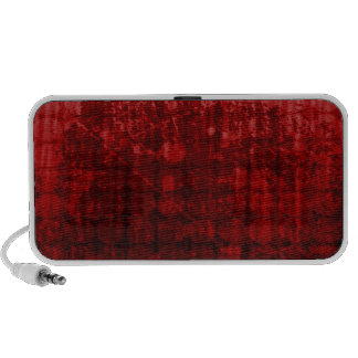 bloody red music mini speaker
