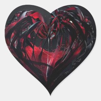 Bloody Romance Heart Sticker