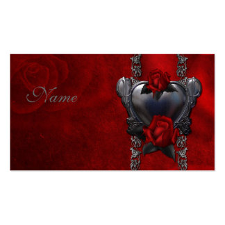 Bloody Rose - Gothic Design Business Card Template