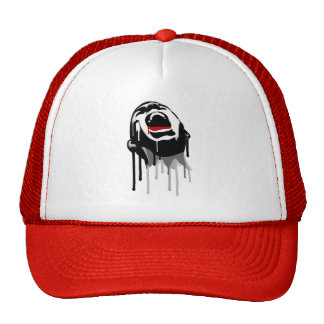 Bloody Scream Trucker Hat