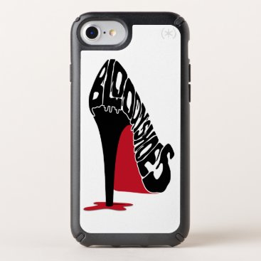 Halloween Themed Bloody Shoes Speck iPhone Case