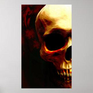 Bloody Skull Print
