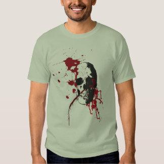 Bloody Skull T Shirts