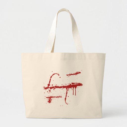 Bloody Slice Tote Bag