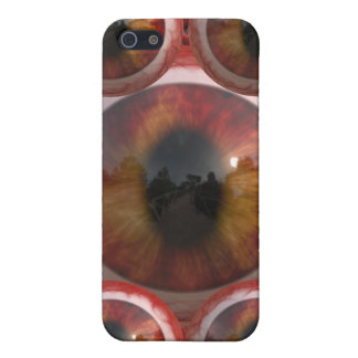 Bloody Slimy Golden Cats Eyes Cover For iPhone SE/5/5s