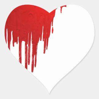 Bloody Heart Sticker