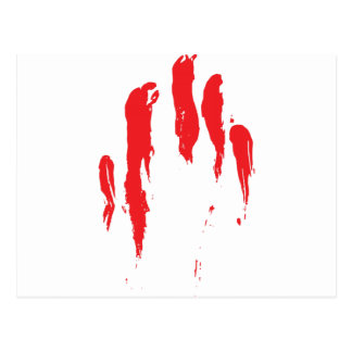 Bloody Streaks Postcard