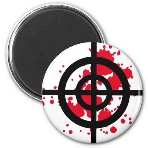 bloody target sniper 2 inch round magnet