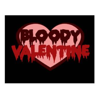 Bloody Valentine Postcard