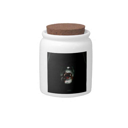 Bloody Vampire Candy Jar