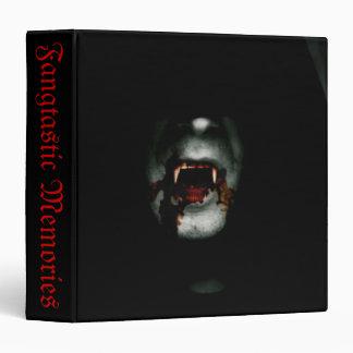 "Bloody Vampire Fangtastic 1.5"" Photo Album 3 Ring Binder"