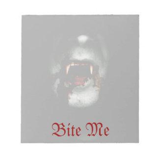 Bloody Vampire Notepad