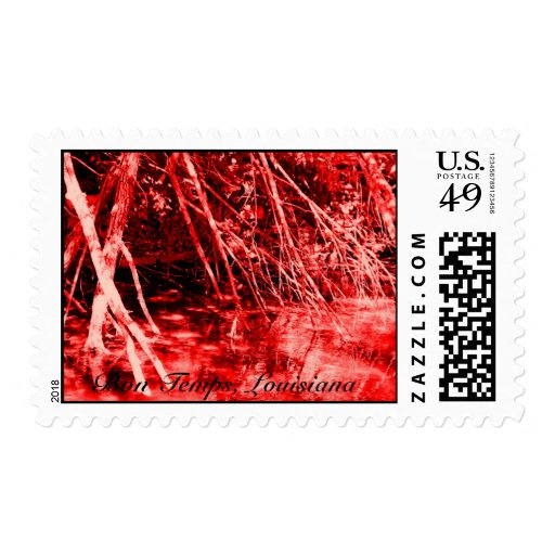 bloody water branches, Bon Temps, Louisiana Postage Stamp