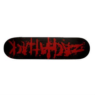 Bloody Zach Attack Skateboard Deck