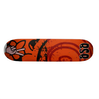 Bloody Zebra Black Edition/ Red Skate Deck