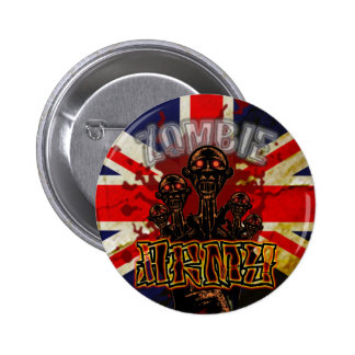 Bloody Zombie Army Button