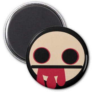 Bloody Zombie 2 Inch Round Magnet