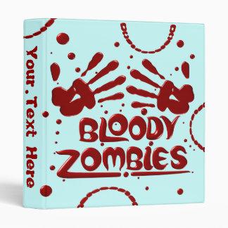 Bloody Zombies Binders