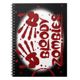 Bloody Zombies Note Books