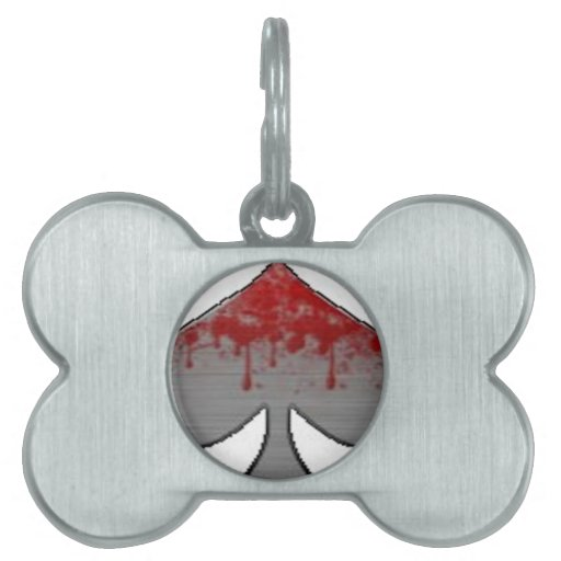 BloodySpade Products Pet Name Tags