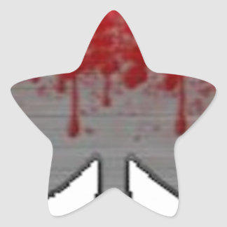 BloodySpade Products Star Sticker