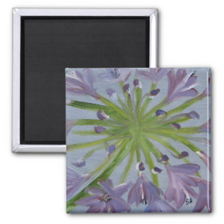 Bloom! 2 Inch Square Magnet