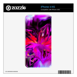 Bloom Abstract Design iPhone 4 Skin