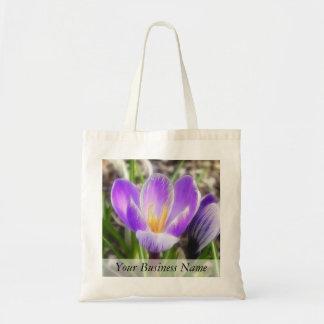 Bloom And Bud - Crocuses Tote Bag