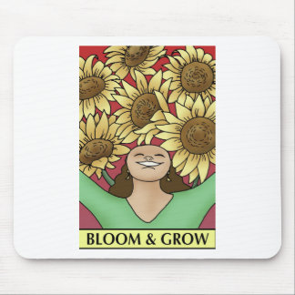 Bloom and Grow Mouse Pad