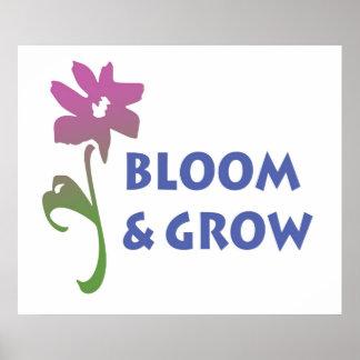 Bloom and Grow Print