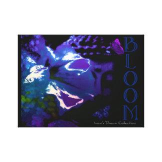 Bloom Buddha Periwinkle Canvas Print