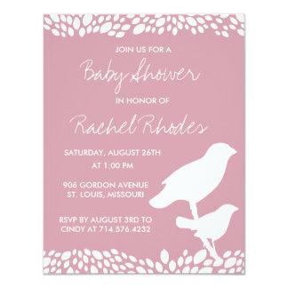 "Bloom Customizable Baby Shower Invitation 4.25"" X 5.5"" Invitation Card"