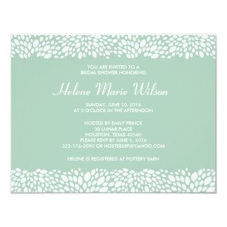 "Bloom Customizable Bridal Shower Invitation 4.25"" X 5.5"" Invitation Card"