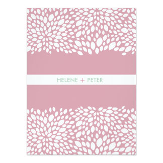 Bloom Customizable Wedding Program 6.5x8.75 Paper Invitation Card