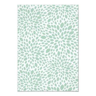 Bloom Customizable Wedding RSVP in Gumleaf 3.5x5 Paper Invitation Card