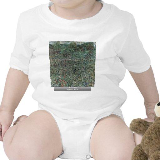 Bloom Field By Klimt Gustav T Shirts