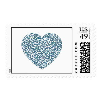 Bloom Heart Stamps in Astral