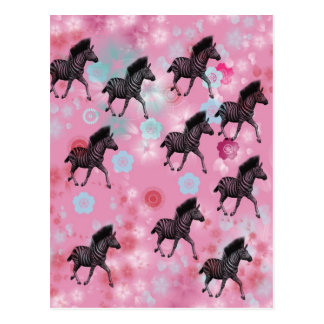 Bloom horse cherry tree postcard