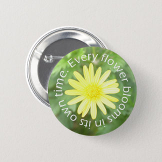 Bloom in Perfect Time Sun Flower Pin