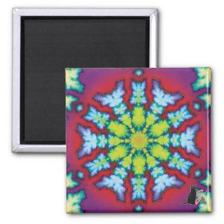 Bloom Kaleidoscope Magnet