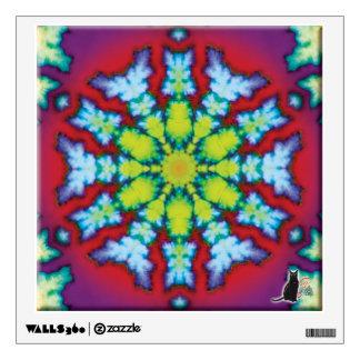Bloom Kaleidoscope Wall Decal