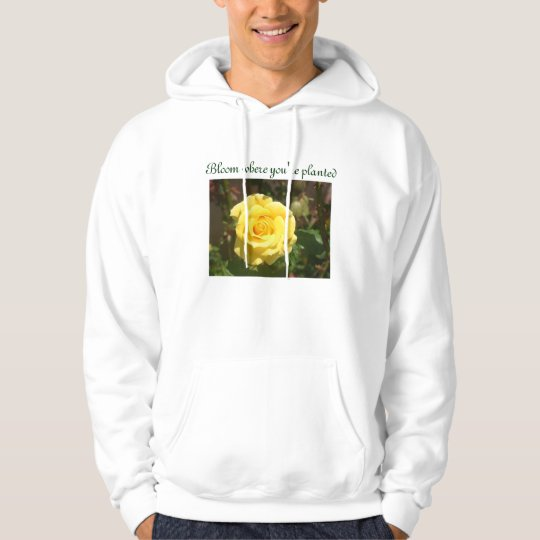 Bloom mens hoodie